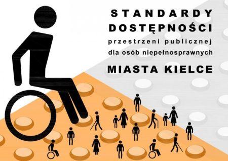 Standardy dostępności przestrzeni publicznej dla osób niepełnosprawnych miasta Kielce