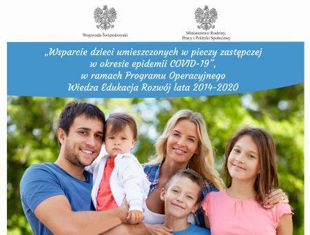Wsparcie dzieci umieszczonych wpieczy zastępczej wokresie epidemii COVID-19